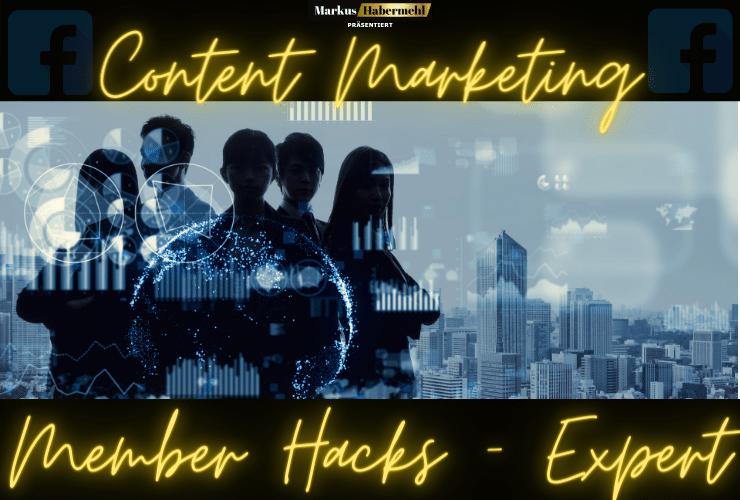 Content Marketing Member Hacks Expert